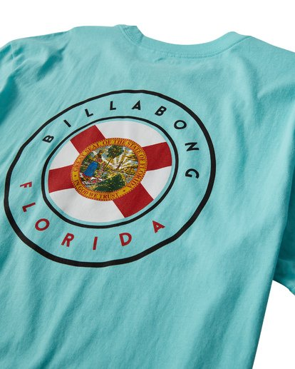3 Native Florida T-Shirt Grey M404VBNF Billabong