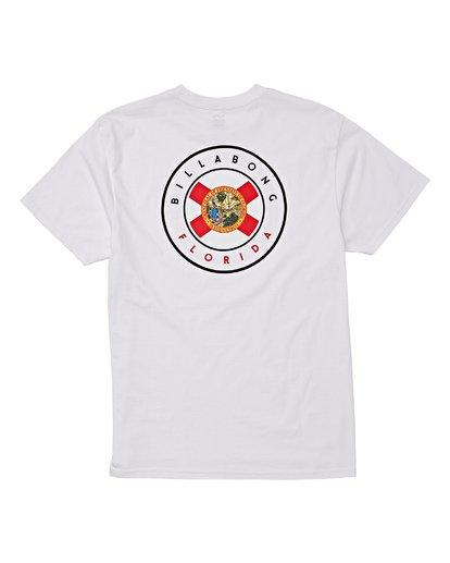 3 Native Florida T-Shirt White M404VBNF Billabong