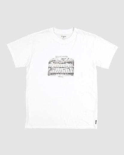 2 Duncan Pies T-Shirt White M404VBPE Billabong