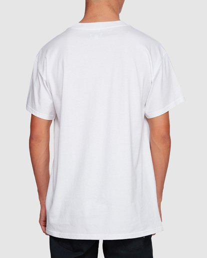 1 Duncan Pies T-Shirt White M404VBPE Billabong