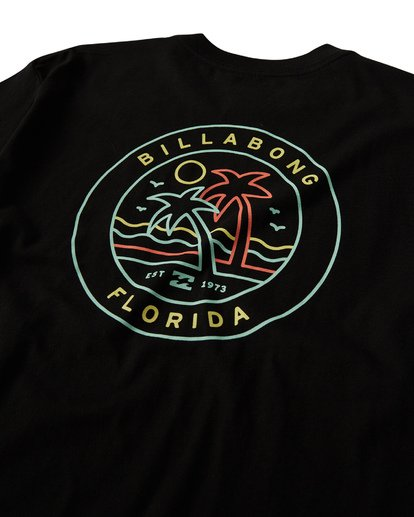 3 Rainbow Fl T-Shirt Black M404VBRA Billabong