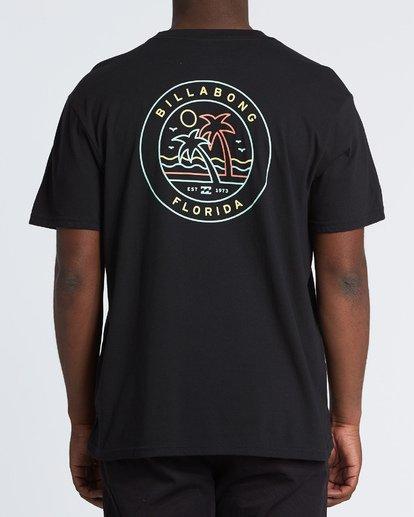 2 Rainbow Fl T-Shirt Black M404VBRA Billabong