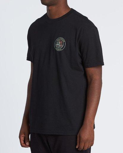 1 Rainbow Fl T-Shirt Black M404VBRA Billabong