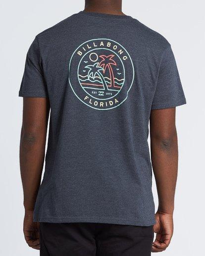 2 Rainbow Fl T-Shirt Blue M404VBRA Billabong