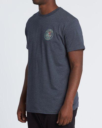 1 Rainbow Fl T-Shirt Blue M404VBRA Billabong