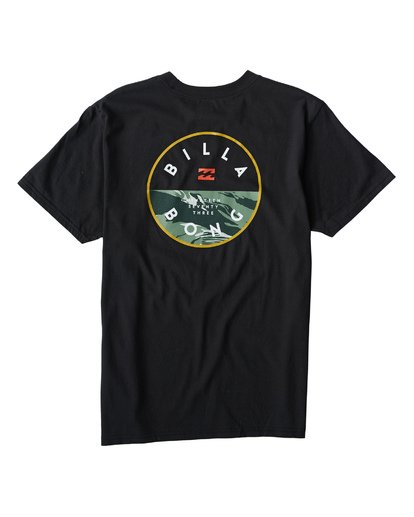 1 Rotor T-Shirt  M404VBRO Billabong