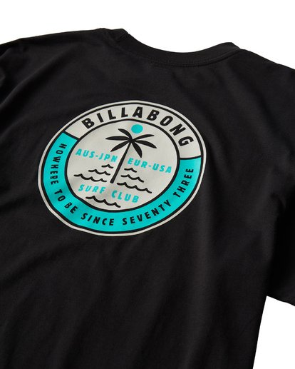 3 Seashore T-Shirt Black M404VBSE Billabong