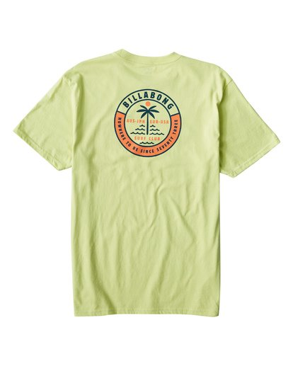 1 Seashore T-Shirt Green M404VBSE Billabong