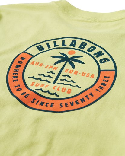 3 Seashore T-Shirt Green M404VBSE Billabong