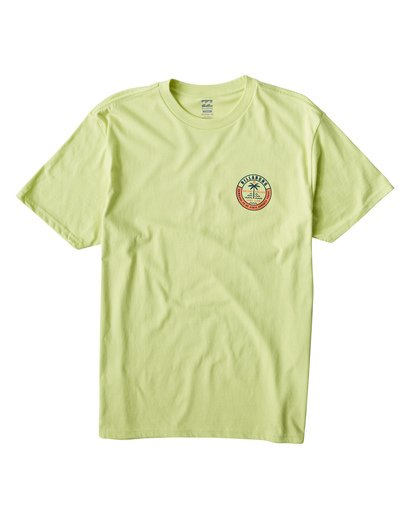 0 Seashore T-Shirt Green M404VBSE Billabong