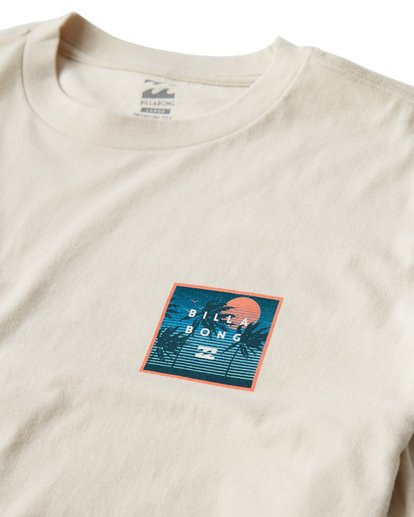 2 Stacked Fill T-Shirt White M404VBSF Billabong
