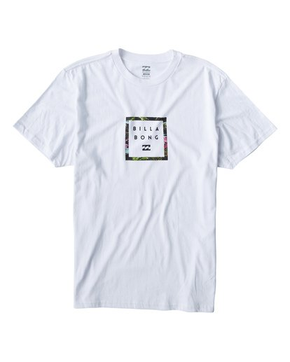 0 Stacker T-Shirt White M404VBSR Billabong