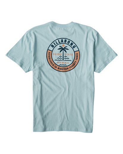 1 Seashore T-Shirt Blue M404VBSS Billabong