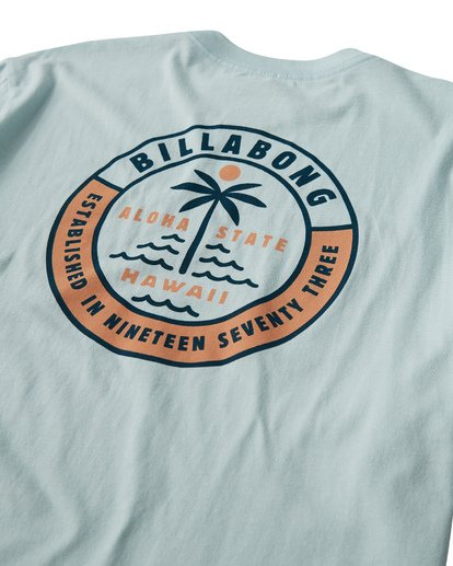 3 Seashore T-Shirt Blue M404VBSS Billabong