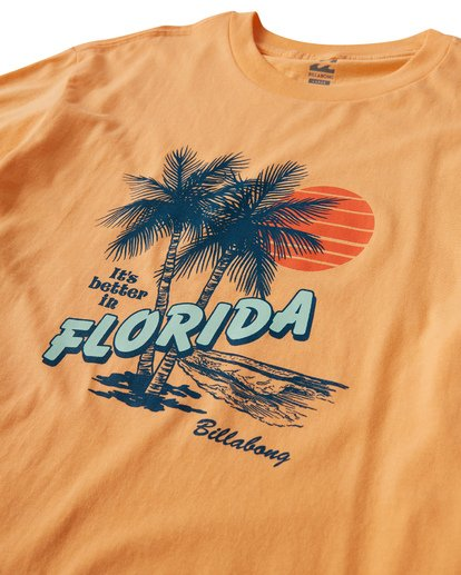 2 Tourist Trap Fl T-Shirt  M404VBTF Billabong