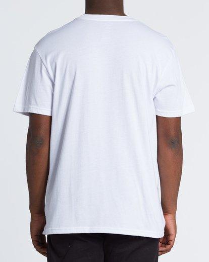 2 Tourist Trap Fl T-Shirt White M404VBTF Billabong