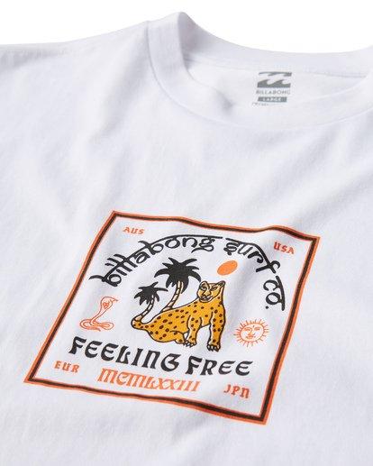 1 Twotail T-Shirt White M404VBTL Billabong