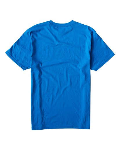1 Teamwave T-Shirt Blue M404VBTW Billabong