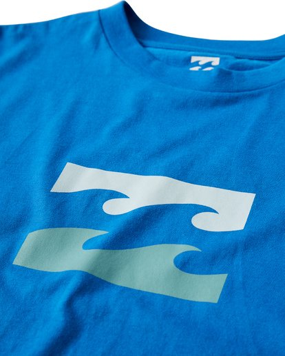 2 Teamwave T-Shirt Blue M404VBTW Billabong