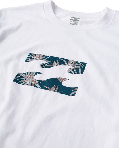 1 Teamwave T-Shirt White M404VBTW Billabong