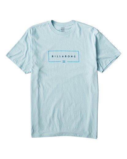 0 Union T-Shirt Blue M404VBUN Billabong