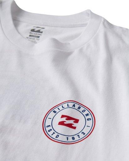 2 Native Rotor Usa T-Shirt White M404VBUS Billabong