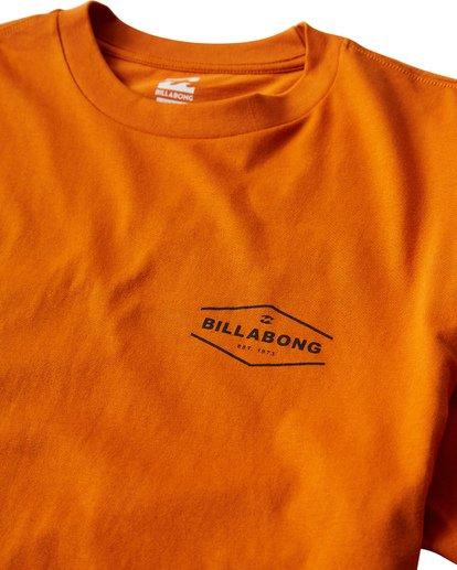 2 Vista T-Shirt Orange M404VBVI Billabong