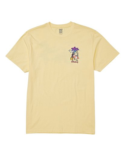 3 Vacay T-Shirt Yellow M404VBVY Billabong
