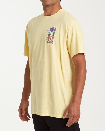 1 Vacay T-Shirt Yellow M404VBVY Billabong
