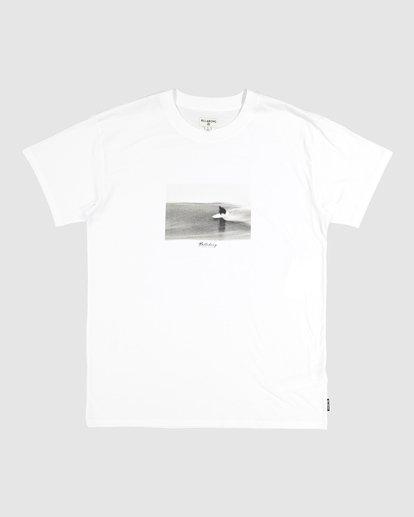 3 Duncan Blur T-Shirt White M404VBXE Billabong