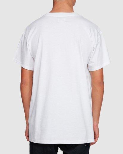 2 Duncan Blur T-Shirt White M404VBXE Billabong
