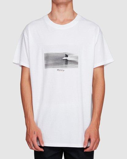 1 Duncan Blur T-Shirt White M404VBXE Billabong
