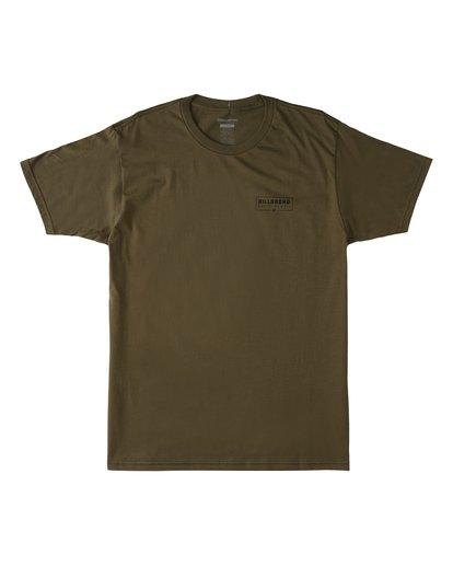 2 Tree Tunnel Short Sleeve T-Shirt Green M404VKTT Billabong