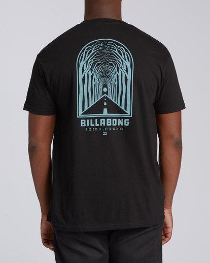 2 Tree Tunnel Short Sleeve T-Shirt Black M404VKTT Billabong
