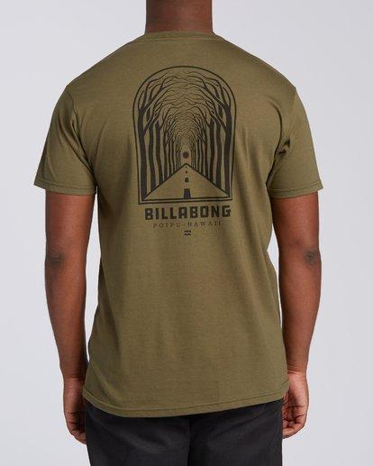 1 Tree Tunnel Short Sleeve T-Shirt Green M404VKTT Billabong