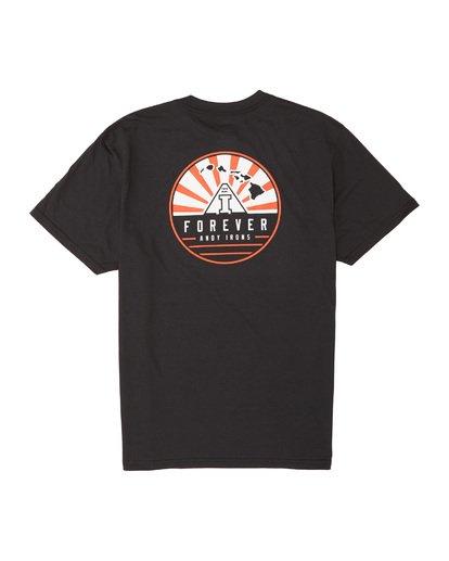 4 AI Forever Short Sleeve T-Shirt Black M404WBAI Billabong