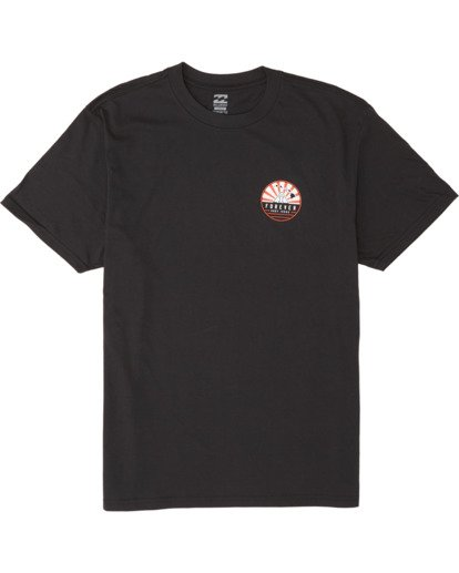 3 AI Forever Short Sleeve T-Shirt Black M404WBAI Billabong
