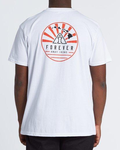 2 AI Forever Short Sleeve T-Shirt White M404WBAI Billabong