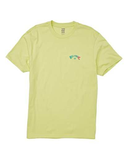 3 Arch Short Sleeve T-Shirt Green M404WBAR Billabong
