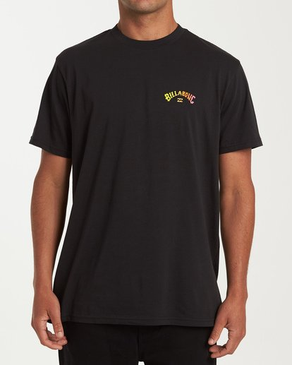 0 Arch Short Sleeve T-Shirt Black M404WBAR Billabong