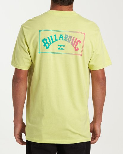 2 Arch Short Sleeve T-Shirt Green M404WBAR Billabong