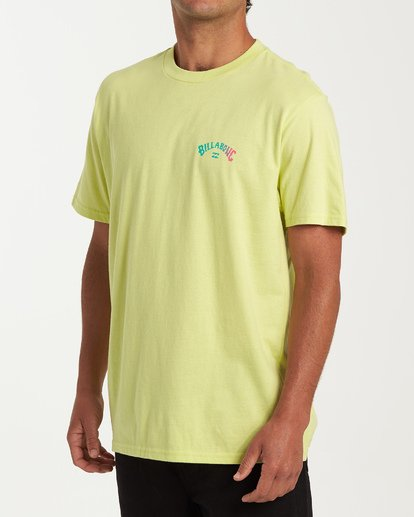 1 Arch Short Sleeve T-Shirt Green M404WBAR Billabong