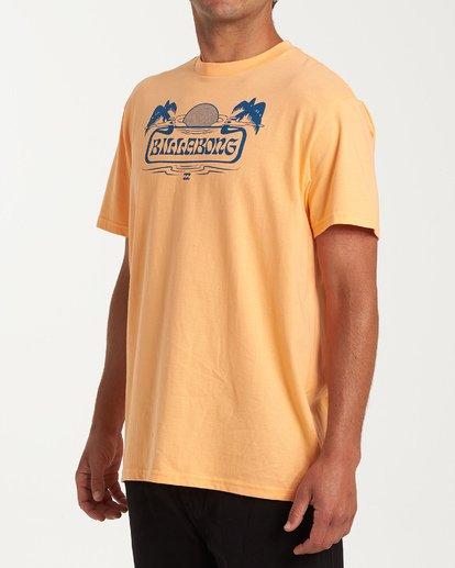 1 Breeze Short Sleeve T-Shirt Grey M404WBBR Billabong