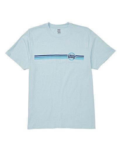 3 Cruise Stripe Short Sleeve T-Shirt Blue M404WBCS Billabong