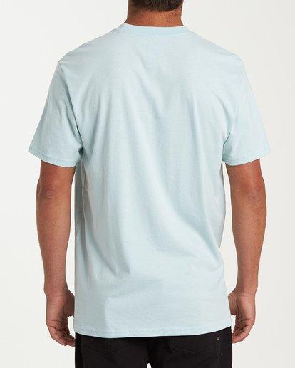2 Cruise Stripe Short Sleeve T-Shirt Blue M404WBCS Billabong