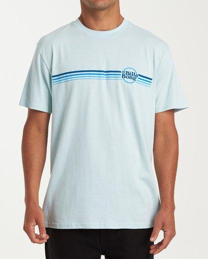 0 Cruise Stripe Short Sleeve T-Shirt Brown M404WBCS Billabong