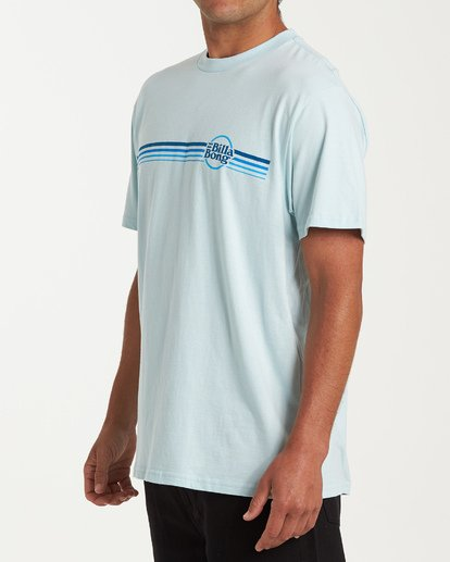 1 Cruise Stripe Short Sleeve T-Shirt Blue M404WBCS Billabong