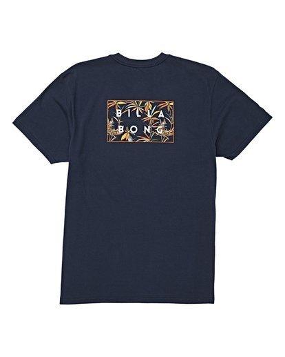 4 Diecut Short Sleeve T-Shirt Blue M404WBDC Billabong