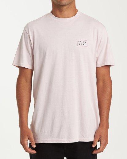 0 Diecut Short Sleeve T-Shirt Purple M404WBDC Billabong