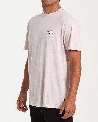 1 Diecut Short Sleeve T-Shirt Purple M404WBDC Billabong